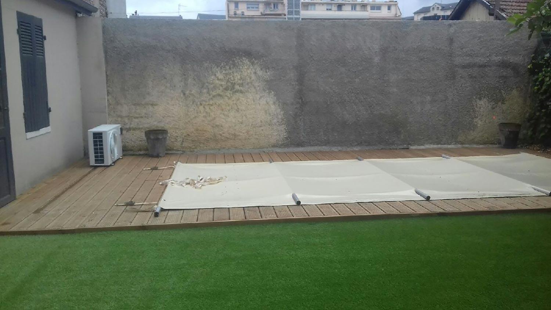 Aménagement autour d\'une piscine - Tarbes - Soules Paysages